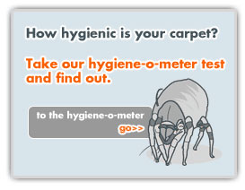 How hygienic is your carpet?